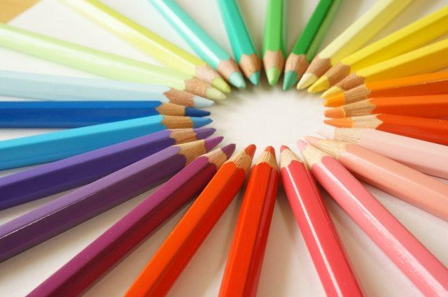 色を利用した広告